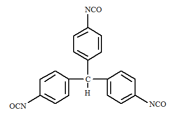 Fig1-Triphenyl methane tri-iso cyanate
